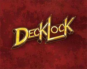 DeckLock logo in KeyForge style